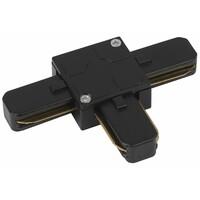 Коннектор для трекового светильника TR7-C 2W T BK Т-образный черный  ЭРА