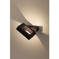 Декоративная подсветка светодиодная  WL2 BK  6Вт IP 20 черный поворотный  ЭРА