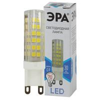 Лампа светодиодная  LED smd JCD-7w-220V-corn, ceramics-840-G9 ЭРА