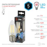 Лампа светодиодная  F-LED B35-5w-840-E27 ЭРА