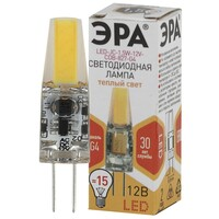 Лампа светодиодная  LED smd JC-1,5w-12V-СOB-827 G4 ЭРА