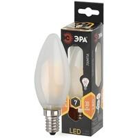 Лампа светодиодная  F-LED B35-7w-827-E14 frost ЭРА