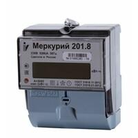 Меркурий 201.8,  5-60 А; 230В (к.т. 1,0; однотариф., ЖКИ) Счетчик электрической энергии МЕРКУРИЙ