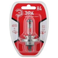 H4 12V 55W P43t BL Лампа головного света ЭРА