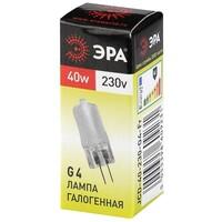 Лампа галогенная G4-JCD-40-230V-FR ЭРА