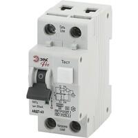 Автоматический выключатель дифференциального тока C16 30mA 6кА 1P+N NO-901-82  ЭРА PRO