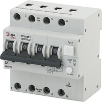 Автоматический выключатель дифференциального тока C25 30mA 6кА 1P+N NO-901-94 ЭРА PRO