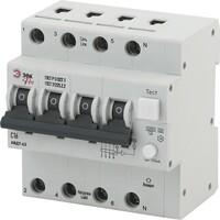 Автоматический выключатель дифференциального тока C16 100mA 6кА 3P+N NO-902-00 ЭРА PRO