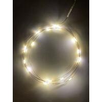 Гирлянда LED Нить  2 м, теплый свет, АА,  IP20 (100/4800), (ENIB-2В)  ЭРА