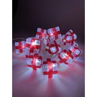 Гирлянда LED Нить Подарки  3 м, холодный свет,  220V, IP 20 (24/192), (ENIN-3Р) ЭРА