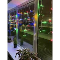 Гирлянда LED Бахрома  2 м * 1 м, мультиколор, 24V (80/960) IP 44 (ENOB-2М) ЭРА